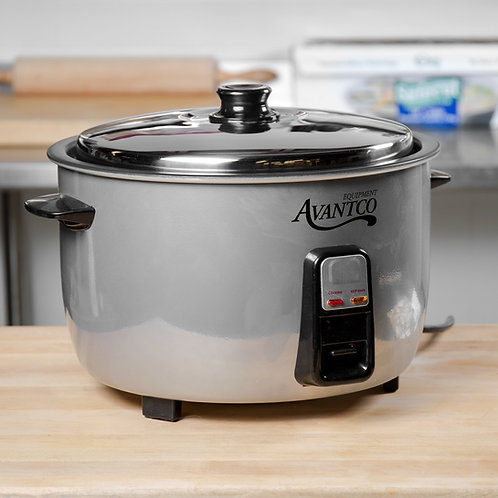 46 Cup (23 Cup Raw) Electric Rice Cooker / Warmer - 120V, 1650W