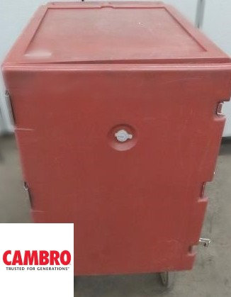 Cambro mobile hot - cold food cart - 4 available