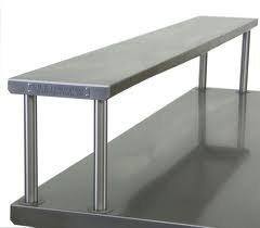 SINGLE OVER SHELF - ONE LEVEL - ADD ON - CLICK HERE FOR PRICES AND LENGTHS