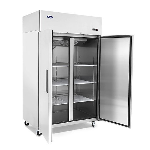 2 door upright refrigerator -TOP MOUNT