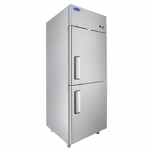 2 HALF DOOR FREEZER- TOP MOUNT