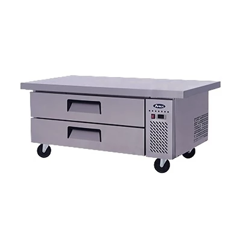 """Chef Base: 60-in Chef Base 27""""H w/5-in Casters"""
