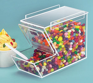 ICE CREAM TOPPING DISPENSER - STACKABLE