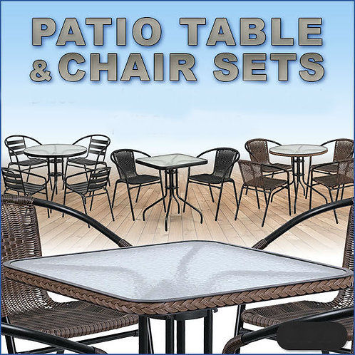 Patio furniture - rattan look