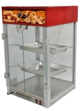COUNTER TOP HOT FOOD DISPLAY CASE