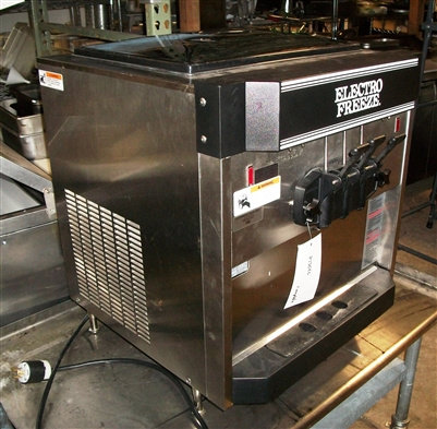 Electro freezer counter top soft serve machine- used for 3 months