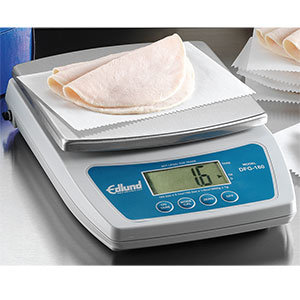 EDLUND 10 LB/ DIGITAL PORTION SCALE WITH FRENCH FRY PLATFORM