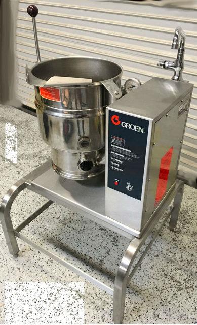 Groen 20 QT 3 Phase Electric Tilt Kettle GROEN TDB-20 #5440 Steam Soup NSF Soup