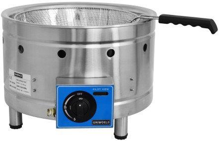 Round counter tjop propane fryer