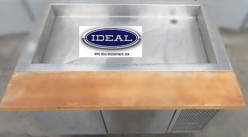 "48""MKE Refrigerated prep salad bar"