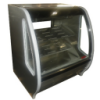 "39.3"" Wide Pastry - Curved glass  Deli Case - black, white or stainless finish"