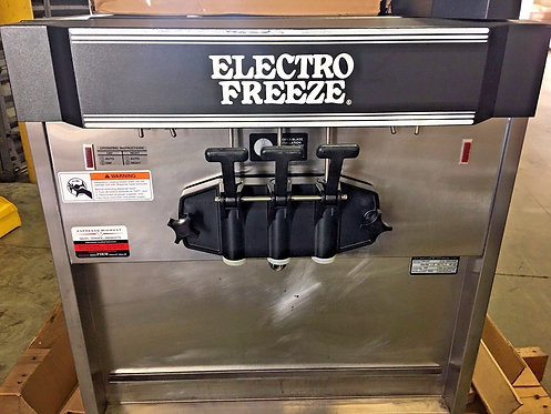 Electro Freeze CS8-237 2 Flavor Twist Ice Cream / Yogurt Machine. FREE Shipping!
