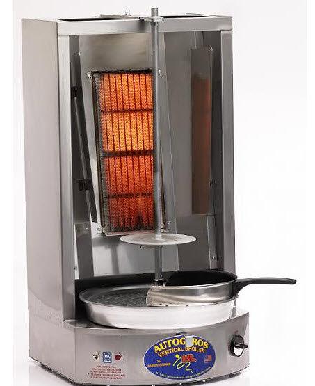 Auto Gyros - Mid size gas donair - gyro vertical broiler