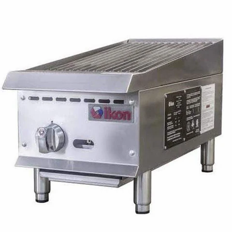 "12"" Radiant Char Broiler - gas or propane"