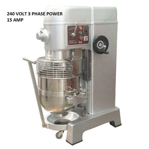 60 QT PLANETARY FLOOR MIXER Bakery Dough Food Prep  3 3/4 HP
