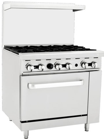 36 GAS RANGE WITH OVEN - BRAND NEW -
