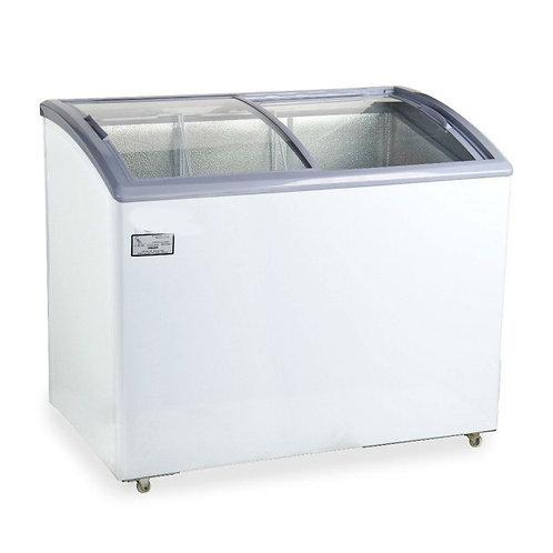 Curved Lid Display Freezer - 8.8 Cu. Ft.