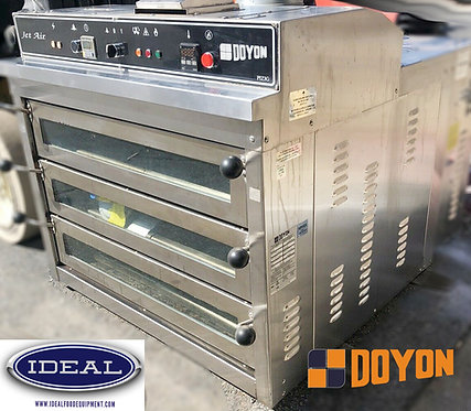 Doyon PIZ3G Triple Deck Natural Gas Pizza Oven -We ship