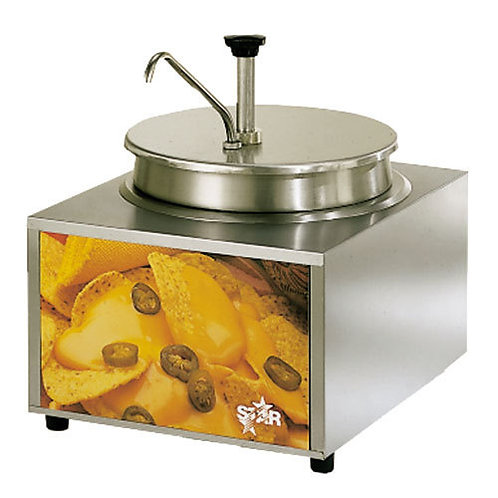 11 Qt. Heat & Serve Cheese Warmer with Pump