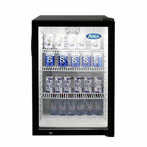 5 CU FT Glass door refrigerator