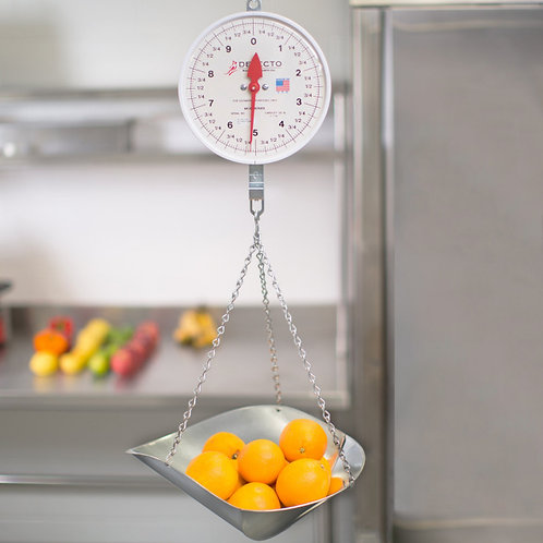 20 LB HANGING SCOOP SCALE - MADE IN USA