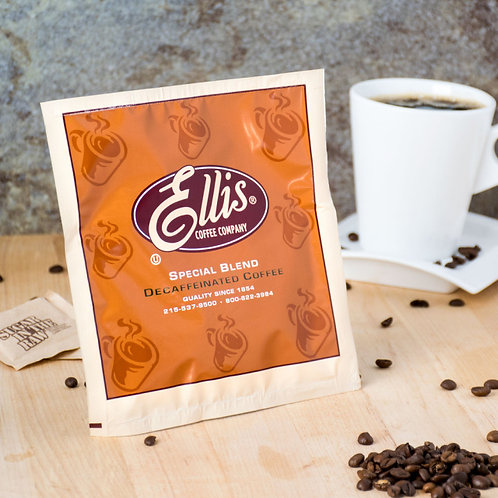 Ellis Decaf Room Service Coffee - (150) .5 oz. Packets / Case Checkout