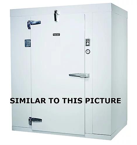 6' x 6' walk in refrigerator - good working condition