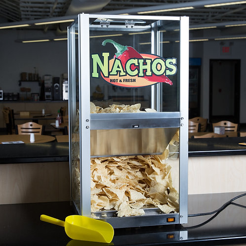 NACHO - POPCORN - PEANUTS DISPLAY WARMER