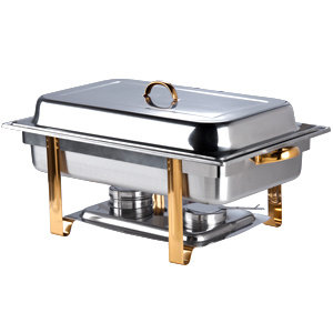 DELUXE FOLD TRIM CHAFER 8 QT. FULL SIZE