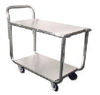 Stainless Steel Stock Cart (welded)