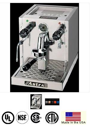 ASTRA SINGLE GROUP ESPRESSO MACHINE-  2 year parts warranty