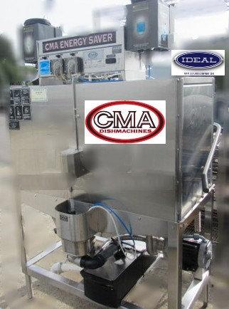 CMA Double Rack Dishwashing