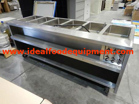 Quest Metal Products 6 well Steam Table