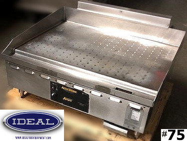 "Accutemp 36"" flat top griddle"