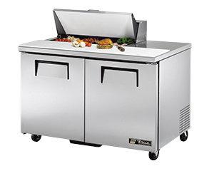 """TRUE 48"""" SANDWICH PREP TABLE - 8 pans"""