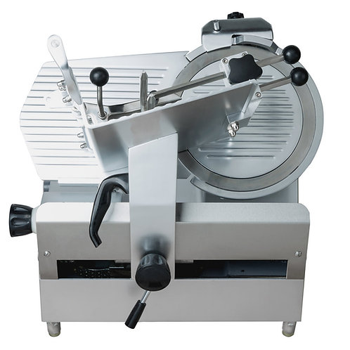 """12"""" Medium-Duty Automatic Meat Slicer with Manual Use Option - 1/2 hp"""
