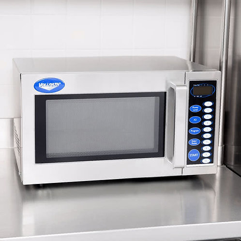 Vollrath  Stainless Steel Microwave Oven with Digital Controls -120V -1000 WATTS