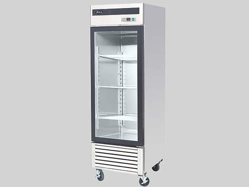 GLASS DOOR SINGLE DOOR REFRIGERATOR