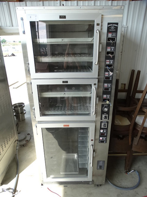 2014 Piper Products 2 oven compartments with proofer - c/w warranty