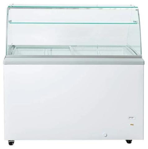 """41"""" ice cream dipping cabinet - 6 tubs"""