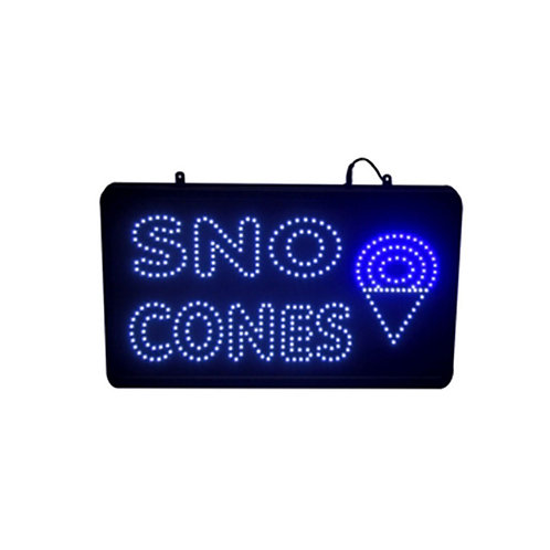 LED SNOW CONE SIGN
