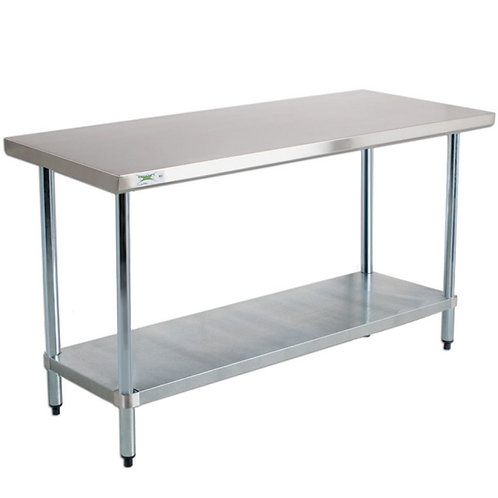 "18"" WIDE STAINLESS STEEL TABLES - 5 TO CHOOSE FROM"