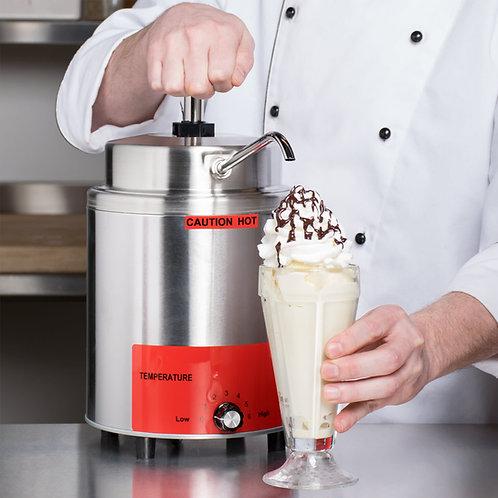 3.5 Qt. Warmer with Pump - Nachos - popcorn -ice cream fudge