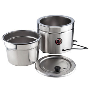 11 Qt. Stainless Steel Countertop Warmer - 120V