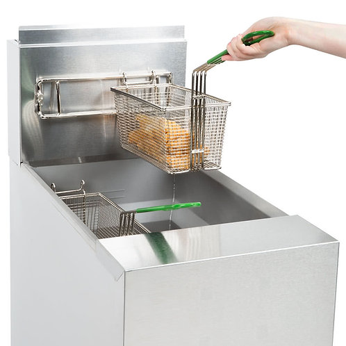 Frymaster 50 LB deep fryer - has open well for easy cleaning