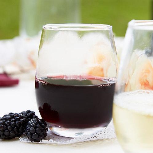 9 oz. Stemless Wine Glass - 12/Case