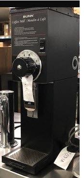 Bunn Coffee Grinder - multi settings