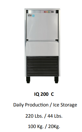 ICE QUEEN 200C UNDER COUNTER ICE MACHINE
