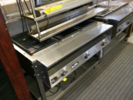 3 WELL HOT FOOD TABLES - SERVEWELL
