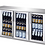 Thumbnail: GLASS DOOR BACK BAR - STAINLESS STEEL - 3 SIZES TO CHOOSE FROM